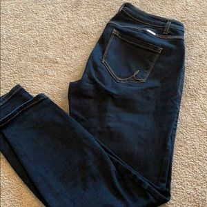 INC curvy skinny jeans